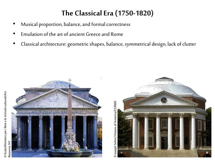 The classical era 1750 1820