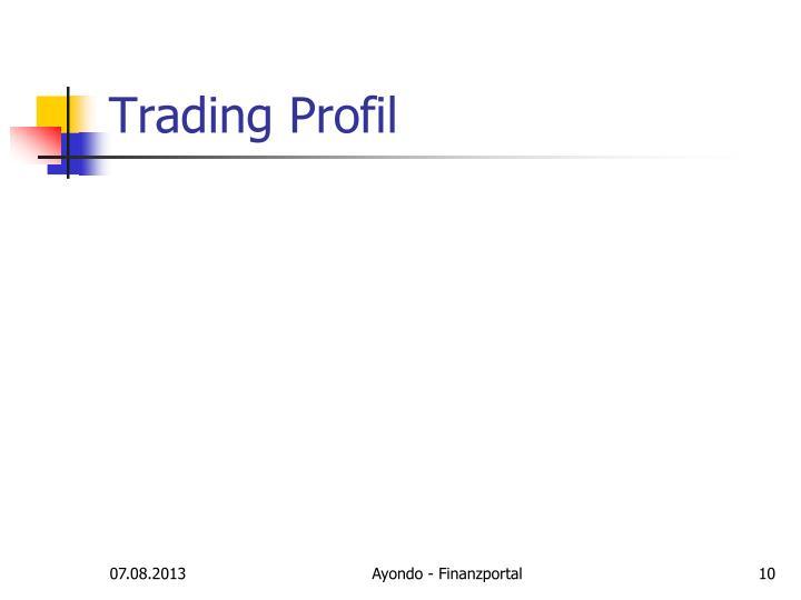 Trading Profil