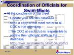 coordination of officials for swim meets3