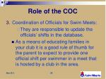 role of the coc2