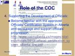 role of the coc3