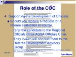 role of the coc4