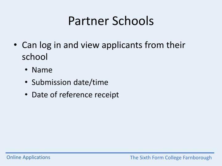 Partner Schools