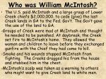 who was william mcintosh