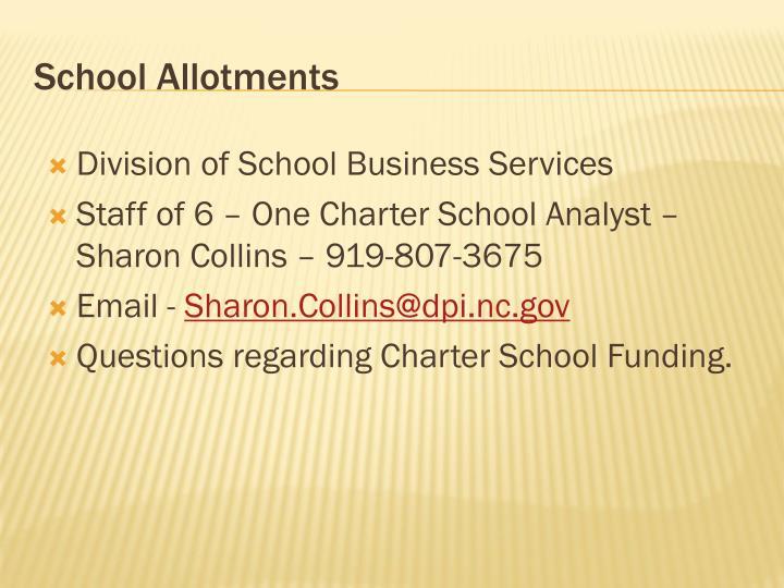 School Allotments