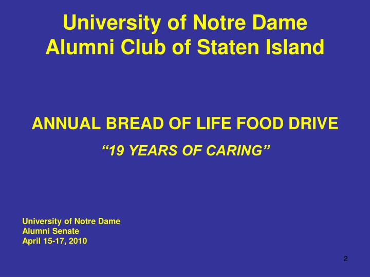 University of notre dame alumni club of staten island1