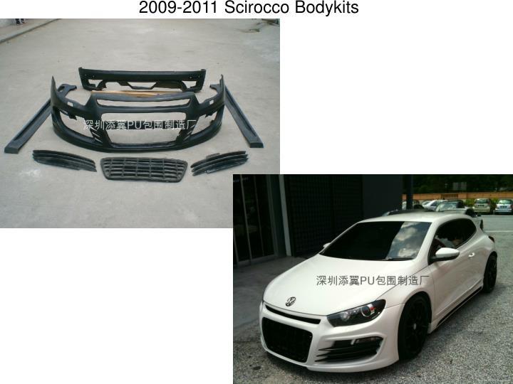 2009-2011 Scirocco Bodykits