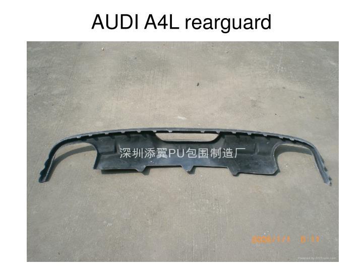 AUDI A4L rearguard