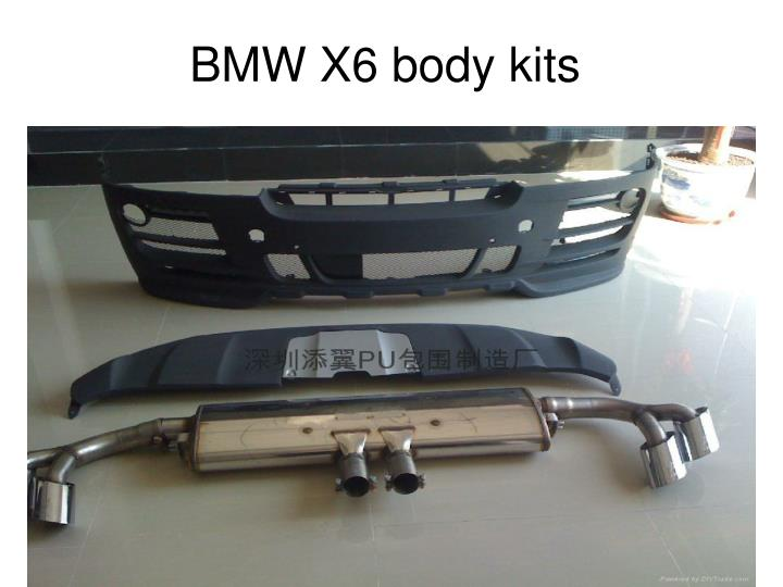 BMW X6 body kits