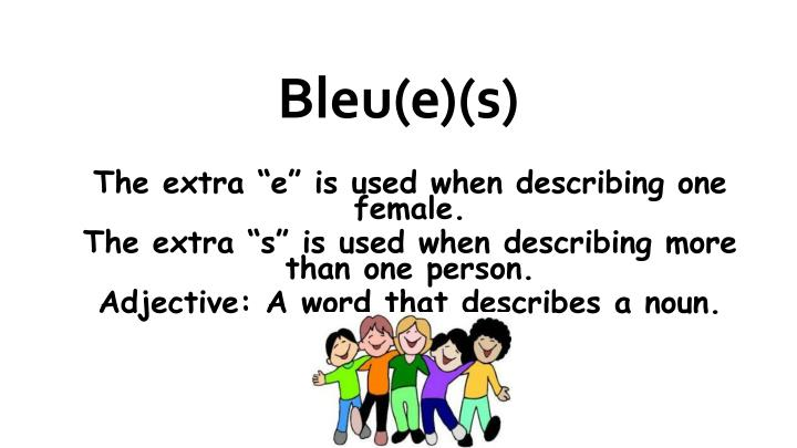 Bleu(e)(s)