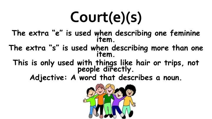 Court(e)(s)