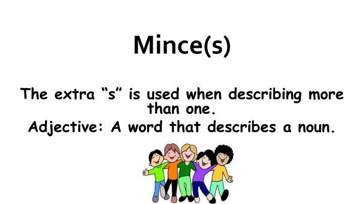 Mince(s)