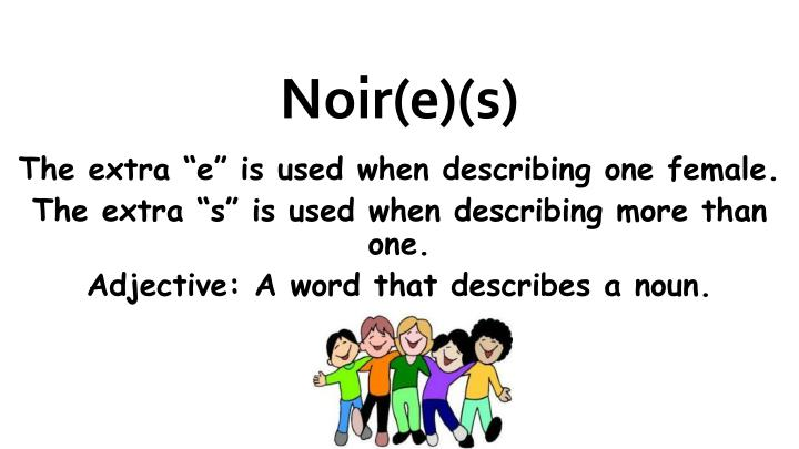Noir(e)(s)
