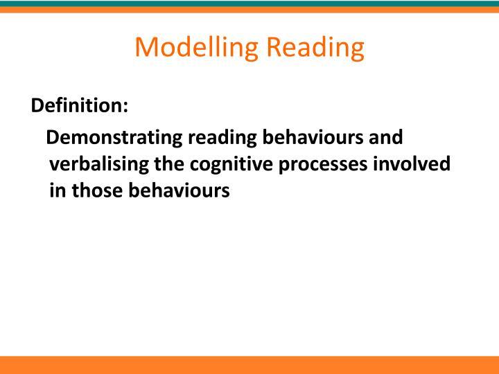 Modelling Reading
