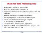 diameter base protocol cont