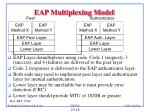 eap multiplexing model