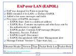 eap over lan eapol