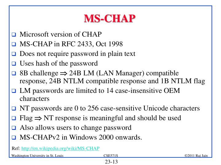 MS-CHAP