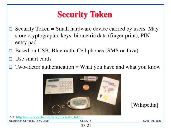 Security Token