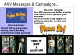 anv messages campaigns