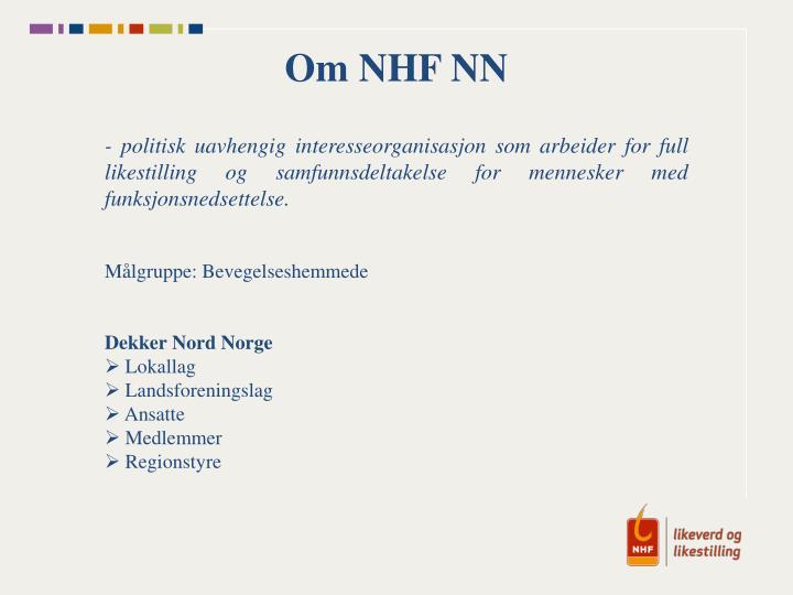 Om NHF NN
