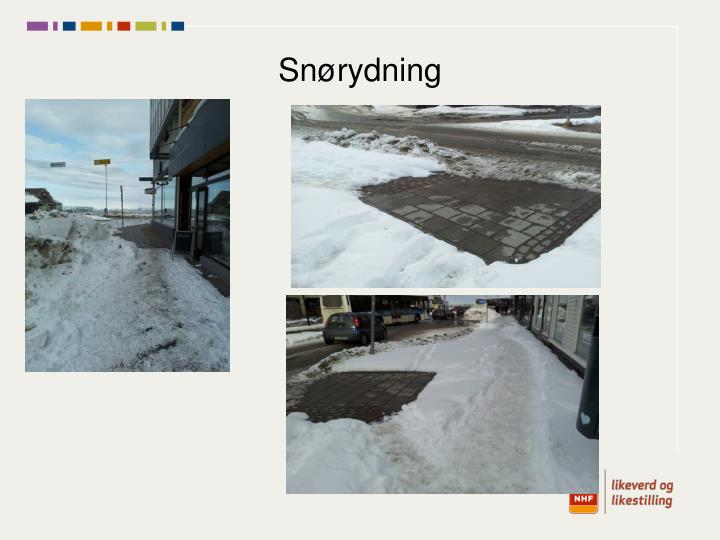 Snørydning