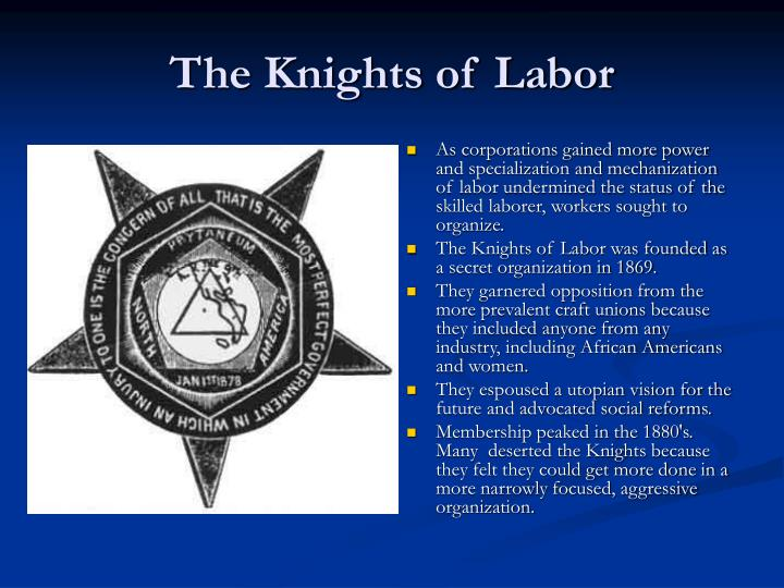 PPT - Business, Labor, and Technology in the Gilded Age ...