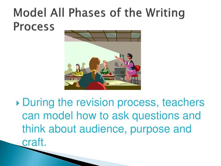 Model All Phases of the Writing Process