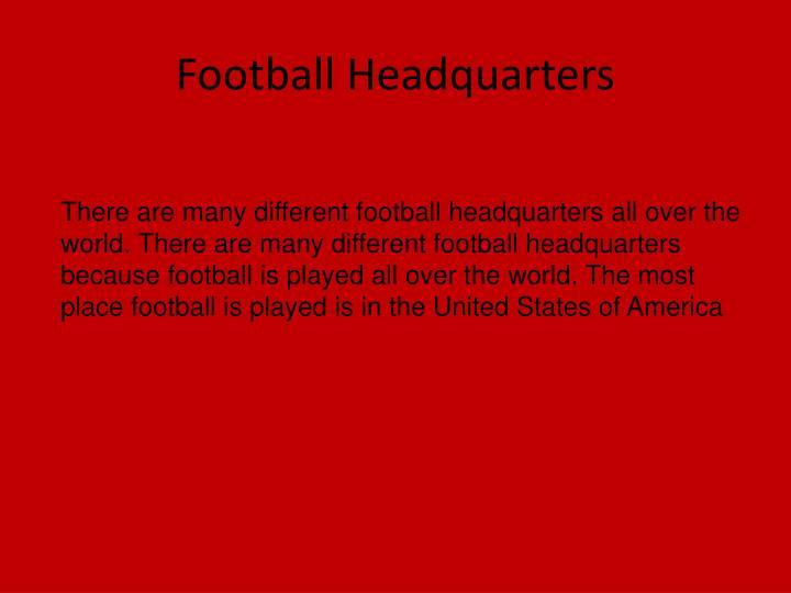 Football Headquarters