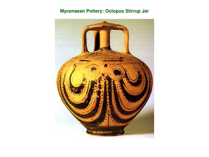 Mycenaean Pottery: Octopus Stirrup Jar