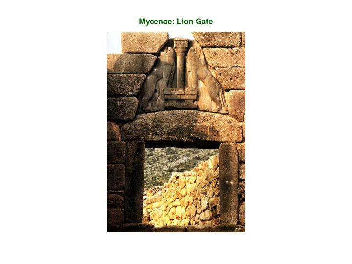 Mycenae: Lion Gate