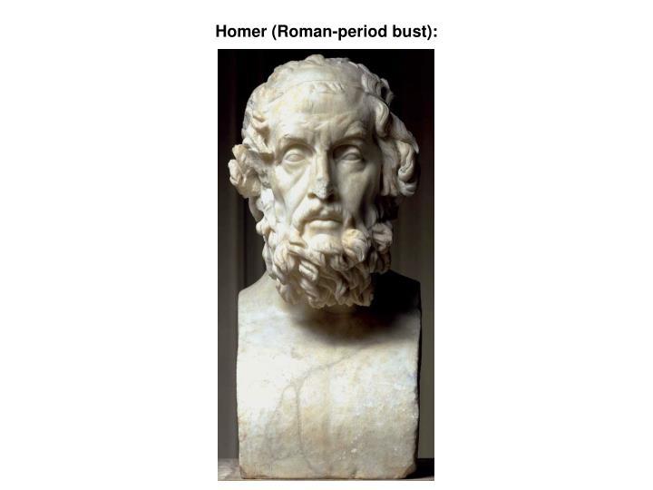 Homer (Roman-period bust):