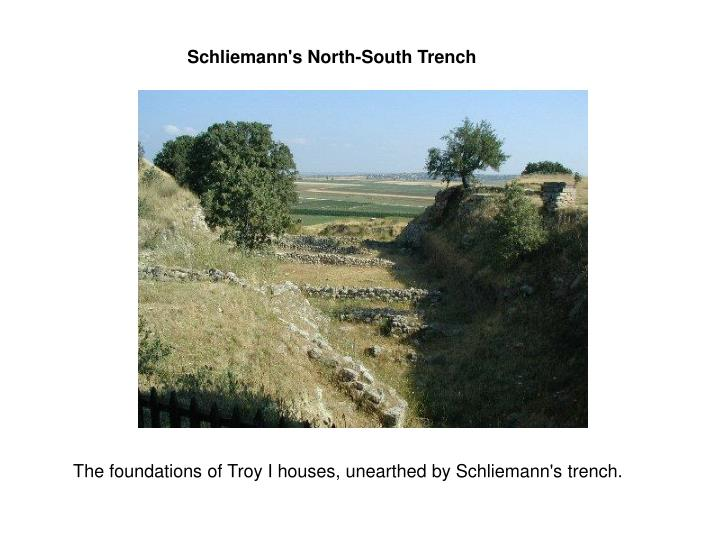 Schliemann's North-South Trench
