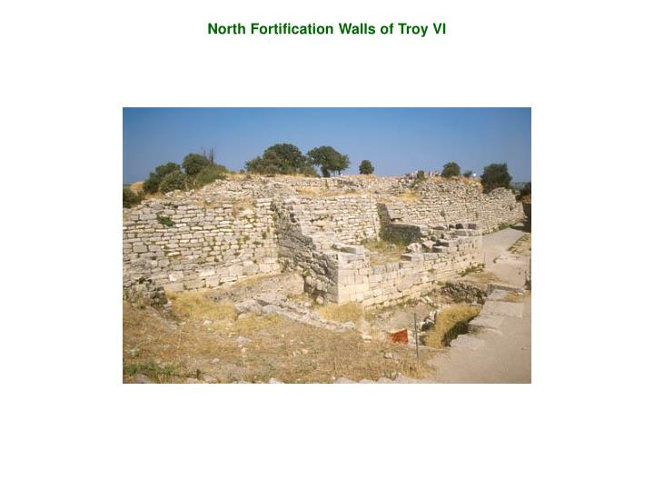 North Fortification Walls of Troy VI