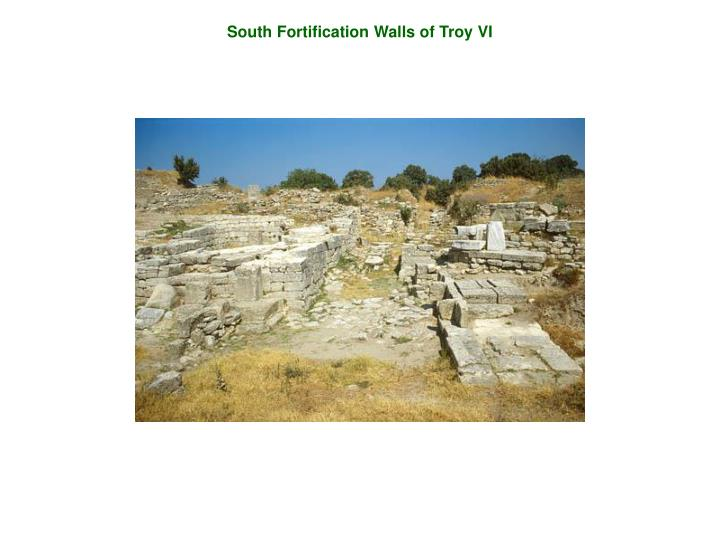 South Fortification Walls of Troy VI