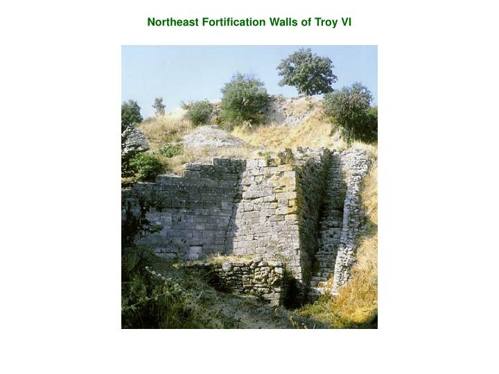 Northeast Fortification Walls of Troy VI