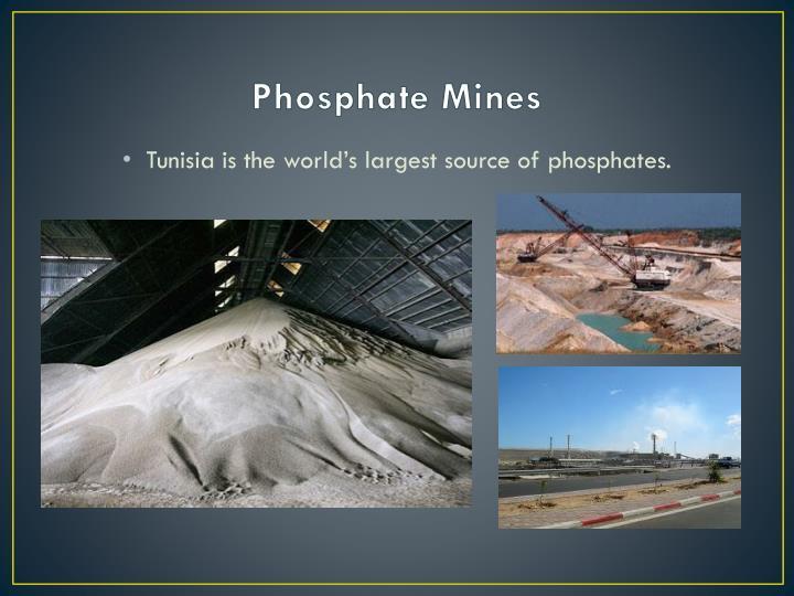 Phosphate Mines