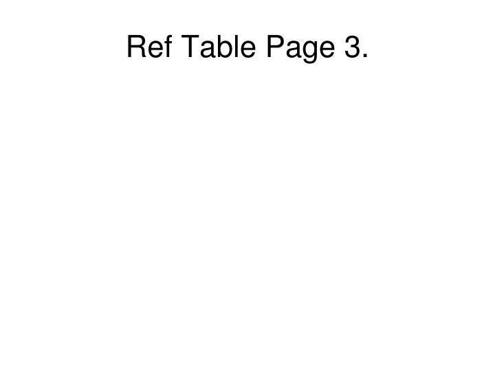 Ref table page 3