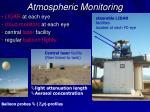 atmospheric monitoring