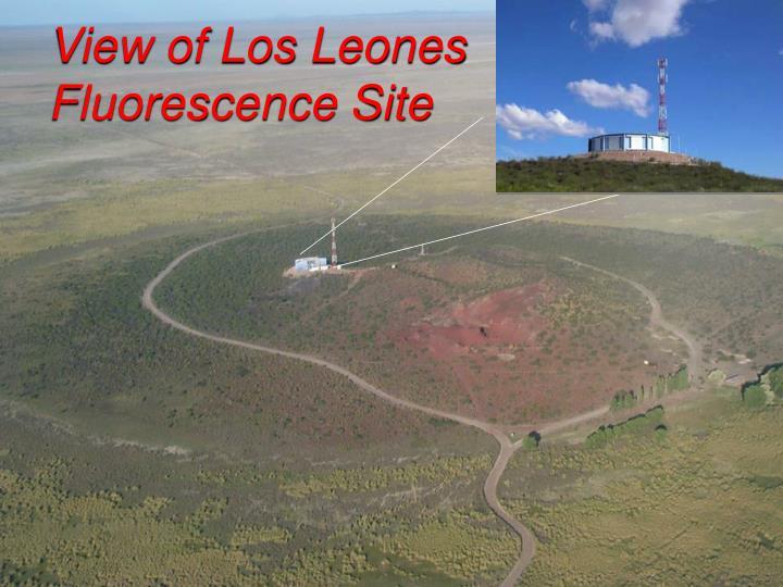 View of Los Leones