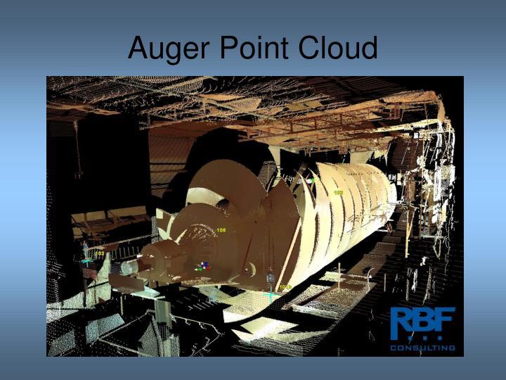 Auger Point Cloud