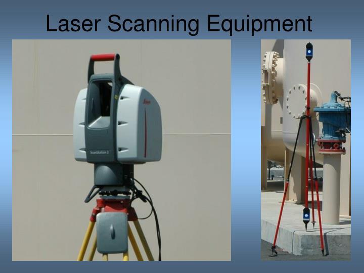 Laser Scanning Equipment