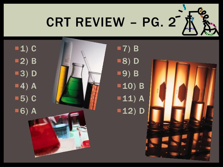 CRT Review – Pg. 2