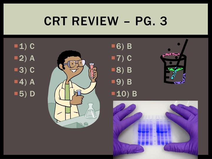 CRT Review – Pg. 3