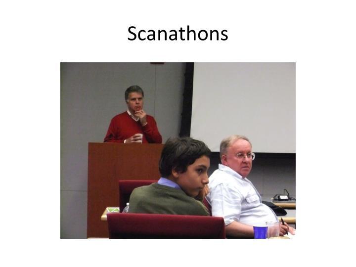 Scanathons