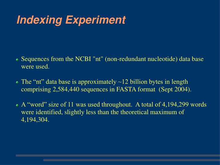 """Sequences from the NCBI """"nt"""" (non-redundant nucleotide) data base were used."""