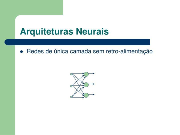 Arquiteturas Neurais