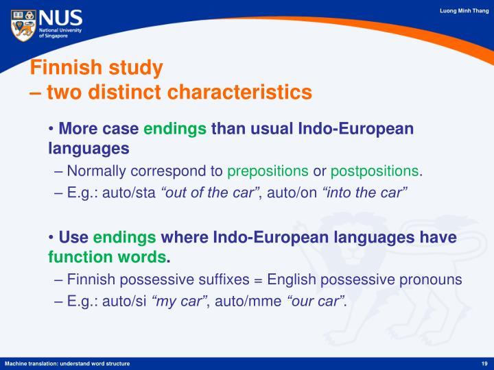 Finnish study