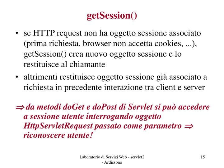getSession()