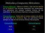 mol culas y compuestos moleculares2